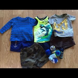 Mixed Clothing Lot of Toddler Boy